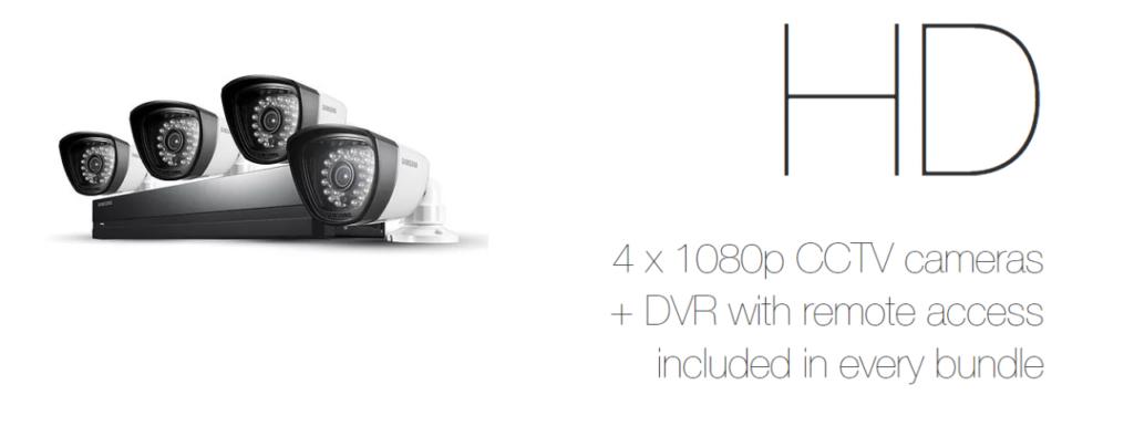 Samsung Freedom - Free HD DVR CCTV System